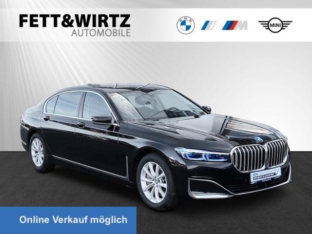 BMW 745Le xDrive Laser HUD Pano TV+ Sitzbel. H/K DAB, Jahr 2019, Hybrid