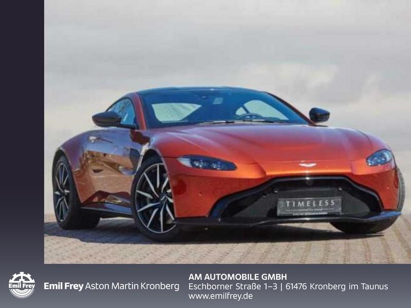 Aston Martin V8 Vantage Coupe, Jahr 2019, Benzin