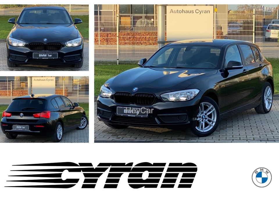 BMW 116d Navi PDC Sitzhzg. LM-Räder MF-Lenkrad EURO6, Jahr 2017, Diesel