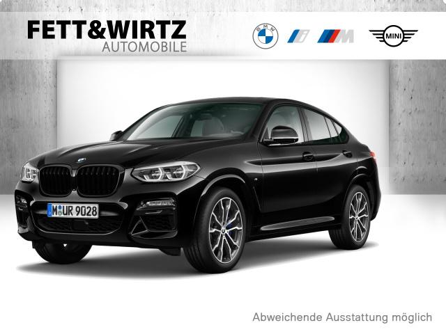 BMW X4 M40d 20''LMR AHK DA+ PA+ LED NaviProf. HUD, Jahr 2019, Diesel