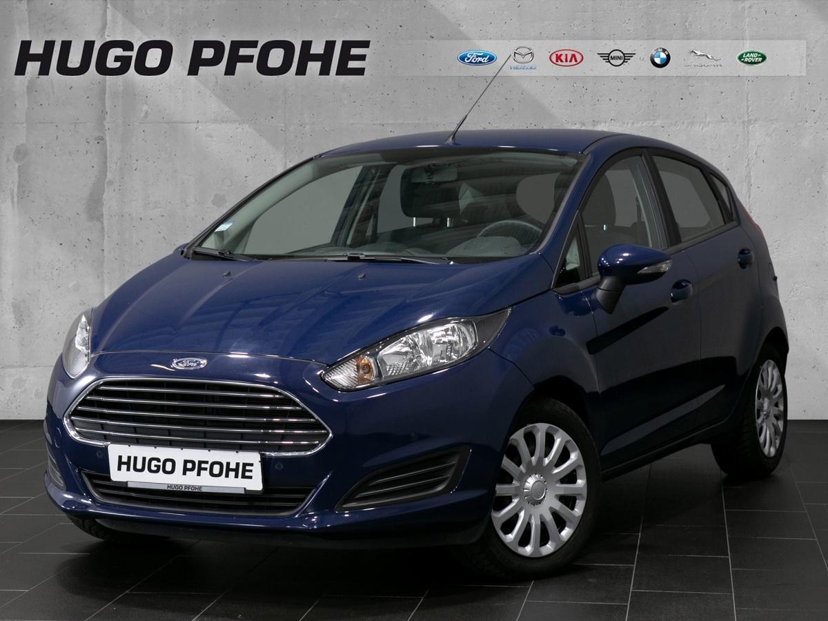 Ford Fiesta Trend 1.25 44kW Schräghecklimousine. 5-tü, Jahr 2013, Benzin