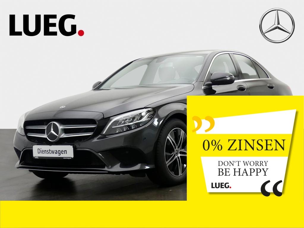 Mercedes-Benz C 160 AVANTGARDE+LED+NAVI+PTS+SHZ+DURCHLADE, Jahr 2019, Benzin