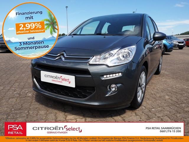 Citroën C3 Selection 1,2l82PS Klima|SHZ|PDC|Tempomat, Jahr 2015, Benzin