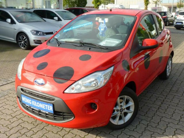 Ford Ka Cool & Sound Marienkäfer Edition, Jahr 2014, Benzin