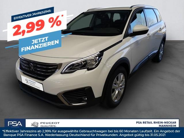 Peugeot 5008 Active PureTech 130*7-SITZE*EPH+RFK*MIRROR LINK*, Jahr 2017, Benzin