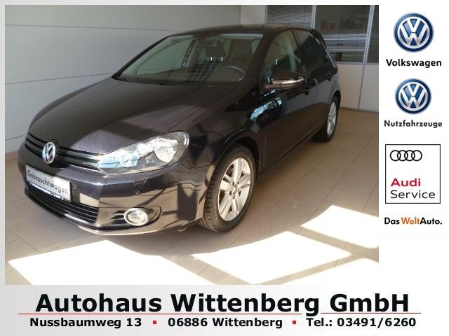 Volkswagen Golf VI 1.2 TSI Match*Clima*MFA*PDC, Jahr 2012, Benzin