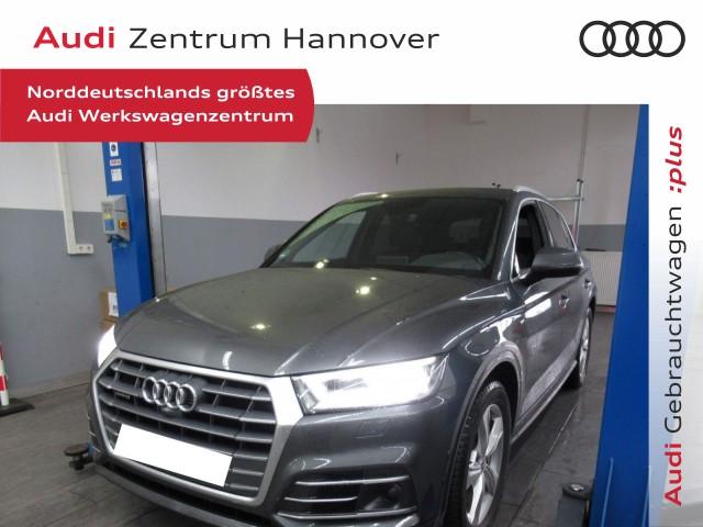Audi Q5 3.0 TDI qu.S line Matrix B&O virtual ACC Leder, Jahr 2018, Diesel