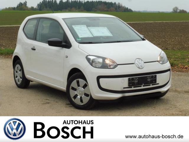 Volkswagen up! take up! 1.0 EURO6 AUX Klima CD-Spieler el., Jahr 2015, petrol