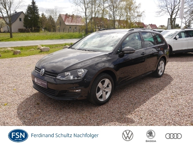 Volkswagen Golf VII Variant 1,6 TDI Comfortline Navi Climat, Jahr 2014, Diesel