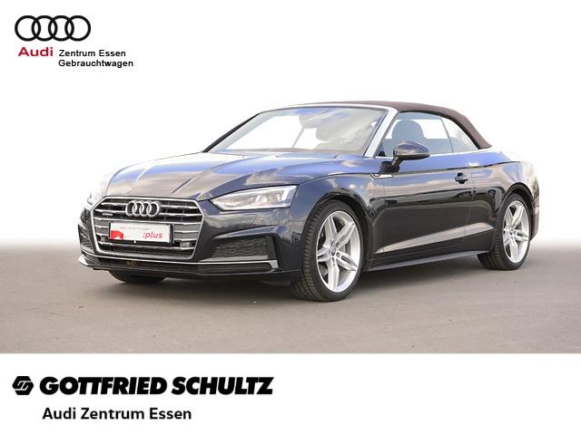 Audi A5 Cabriolet 3.0TDI S-TRONIC 2X S-LINE LED PLUS SHZ PDC VO HI FSE MUFU, Jahr 2018, Diesel