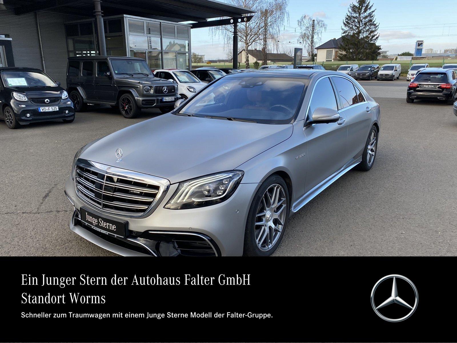 Mercedes-Benz S 63 AMG 226.844,-VOLL Standhz Exclusiv 3D-Hifi, Jahr 2017, Benzin