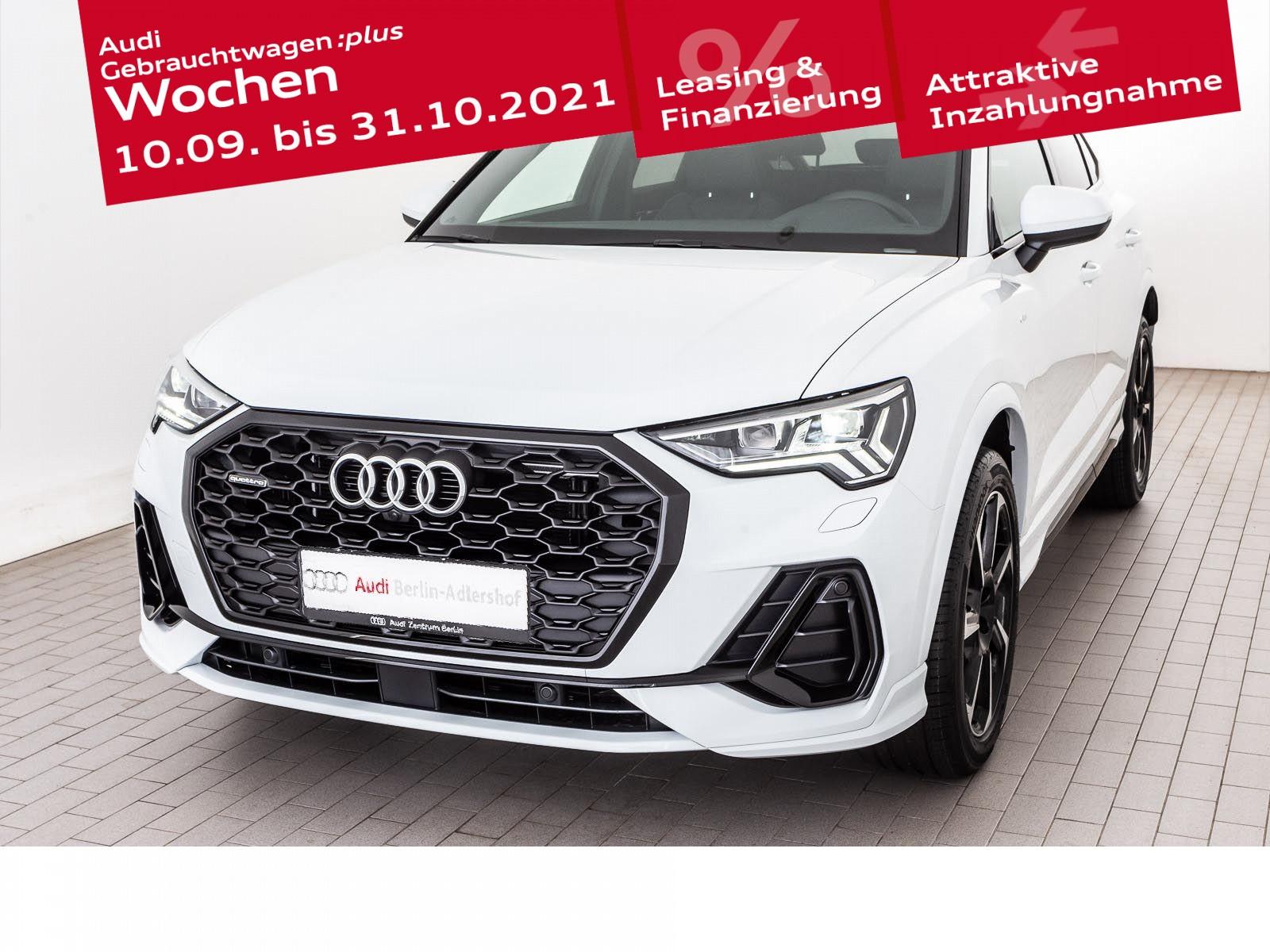 Audi Q3 Sportback S line 40 TFSI quattro S tronic, Jahr 2020, Benzin