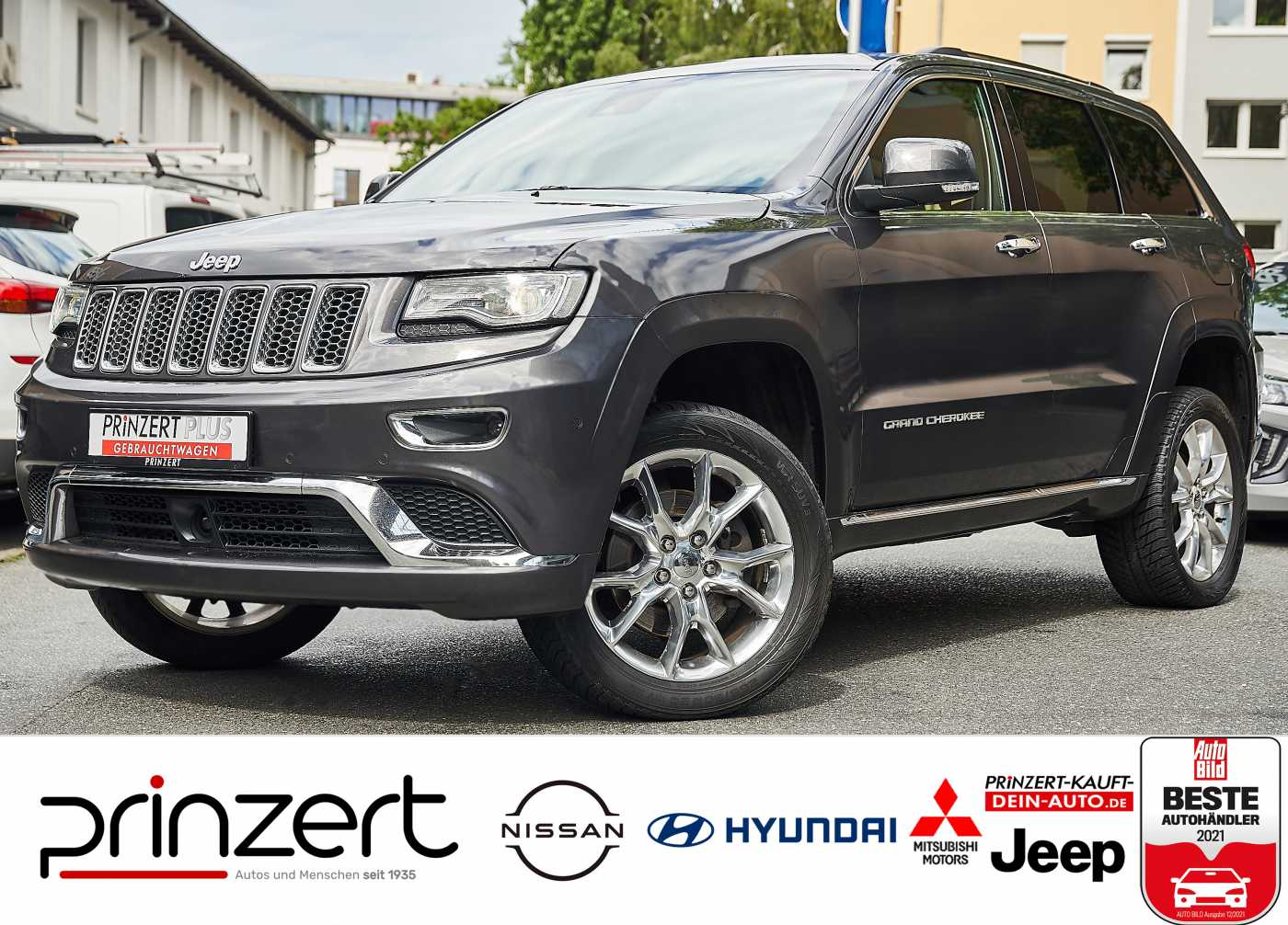 Jeep Grand Cherokee 3.0 CRD 'Summit' sofort verfügbar !, Jahr 2016, Diesel