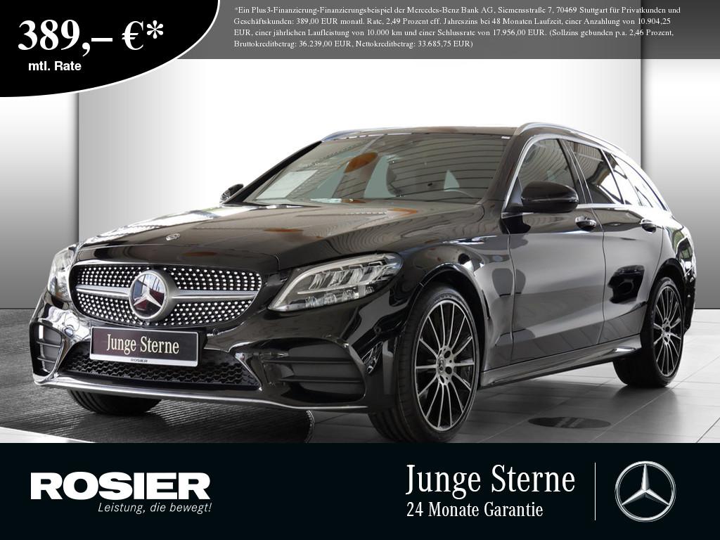 Mercedes-Benz C 400 4M T AMG Sport, Jahr 2018, Benzin