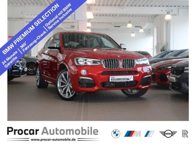 BMW X4 M40i LED NaviProf AHK HeadUp DAB Kamera 20''LM, Jahr 2017, Benzin