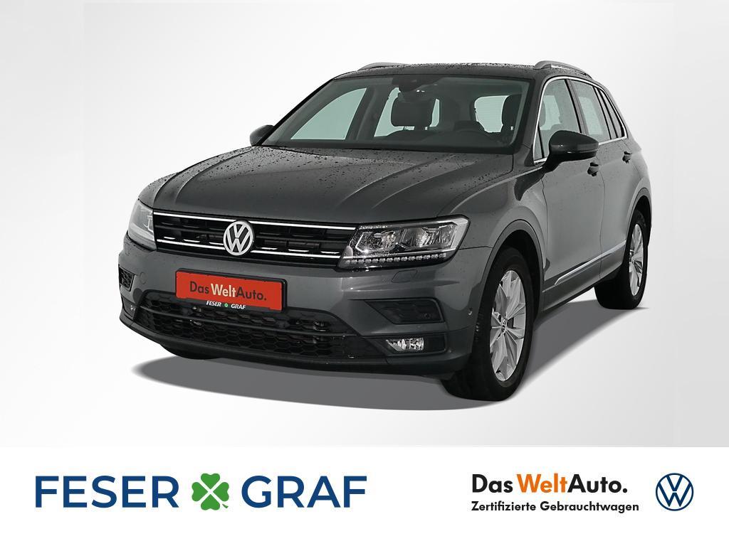 Volkswagen Tiguan Comfortline 2.0 TDI DSG Navi Pano Leder, Jahr 2018, Diesel