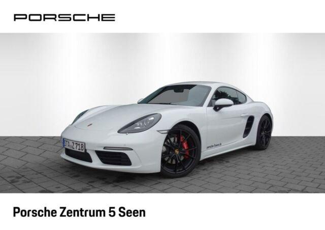 Porsche 718 Cayman S, PDK, SpChrono, PDLS, PASM, BOSE, Jahr 2018, Benzin