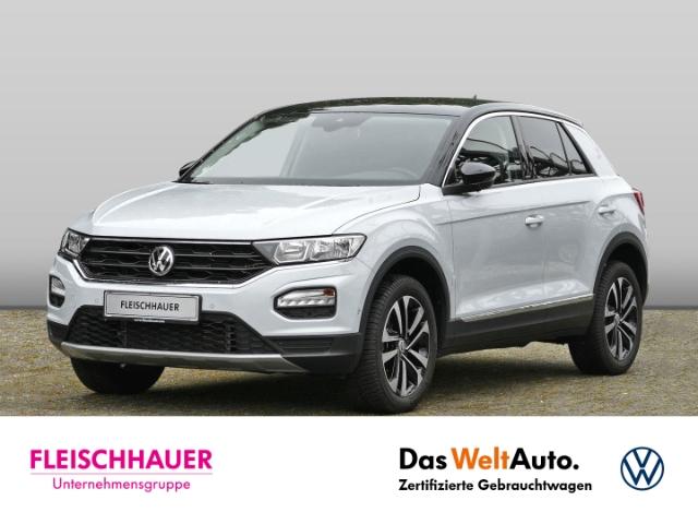 Volkswagen T-Roc IQ.DRIVE 1.5 TSI ACT EU6d-T ACC AppconnectNav. Holzausst. AHK-abnehmbar El. Heckklappe, Jahr 2020, Benzin