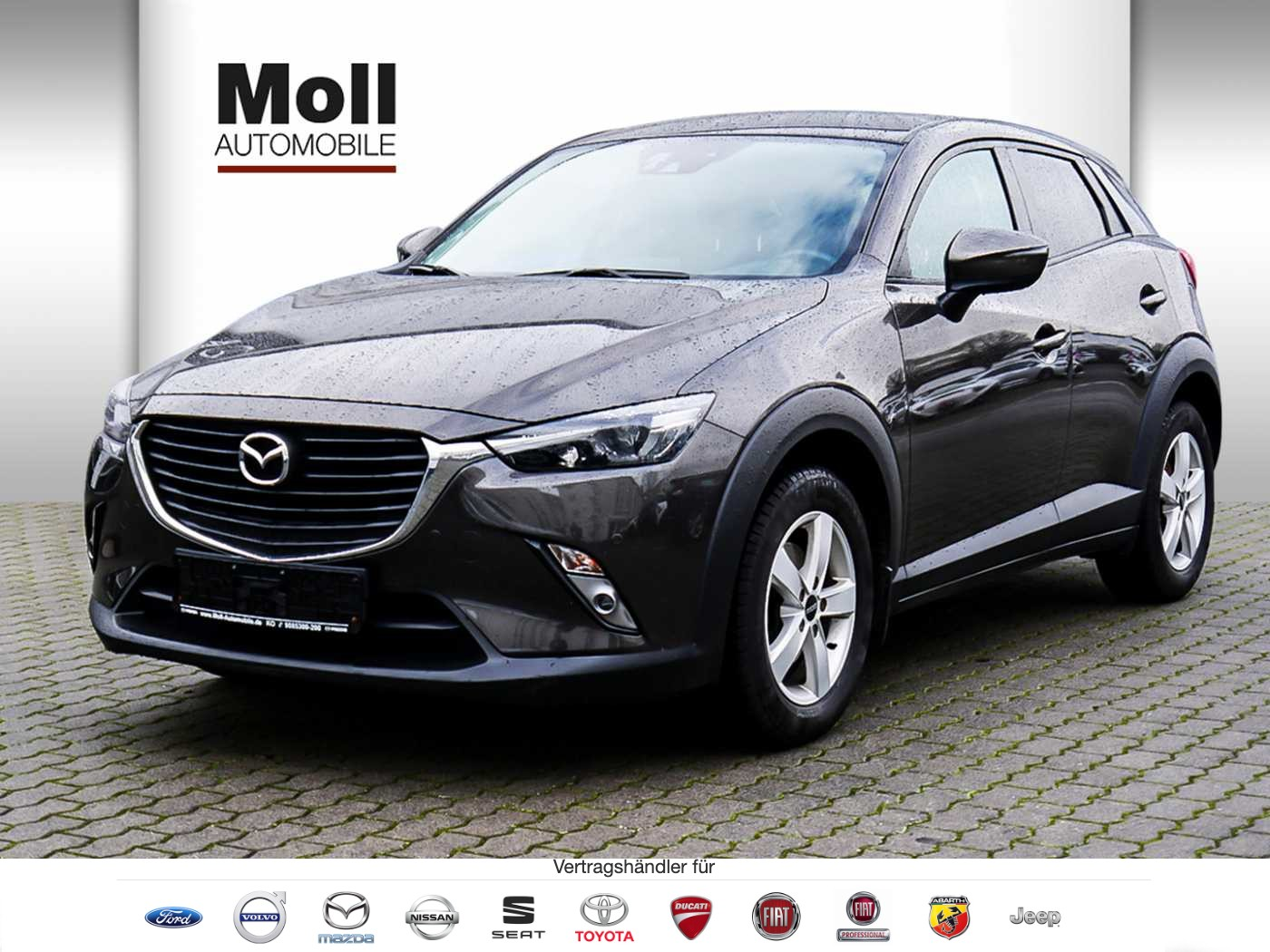 Mazda CX 3 Skyactive Exclusive Line Navi AHK CX-3 L SKYACTIV-G 120 FWD 5T 6GS AL-EXCLUSIVE, Jahr 2016, Benzin