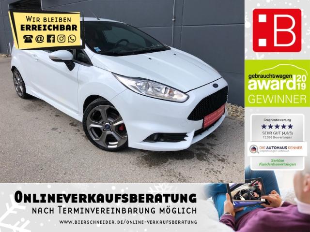 Ford Fiesta 1.6 EcoBoost ST Recaro Sitzheizung Bluetooth, Jahr 2014, Benzin