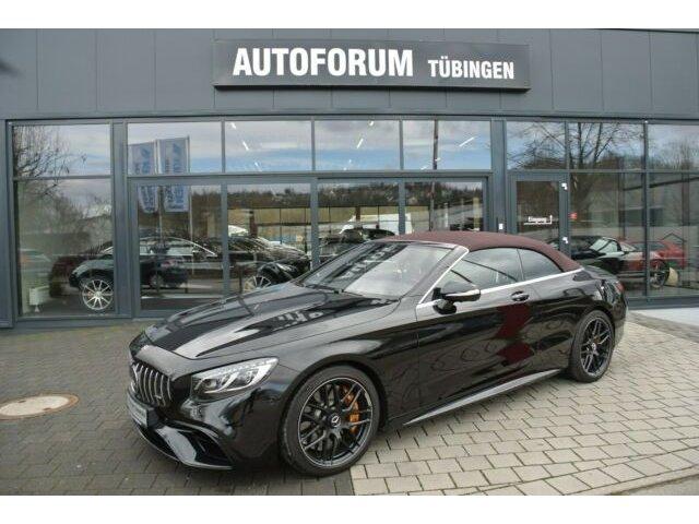 Mercedes-Benz S 63 4MATIC+ Cabrio *KERAMIK*CARBON*TV*VOLL*, Jahr 2018, Benzin