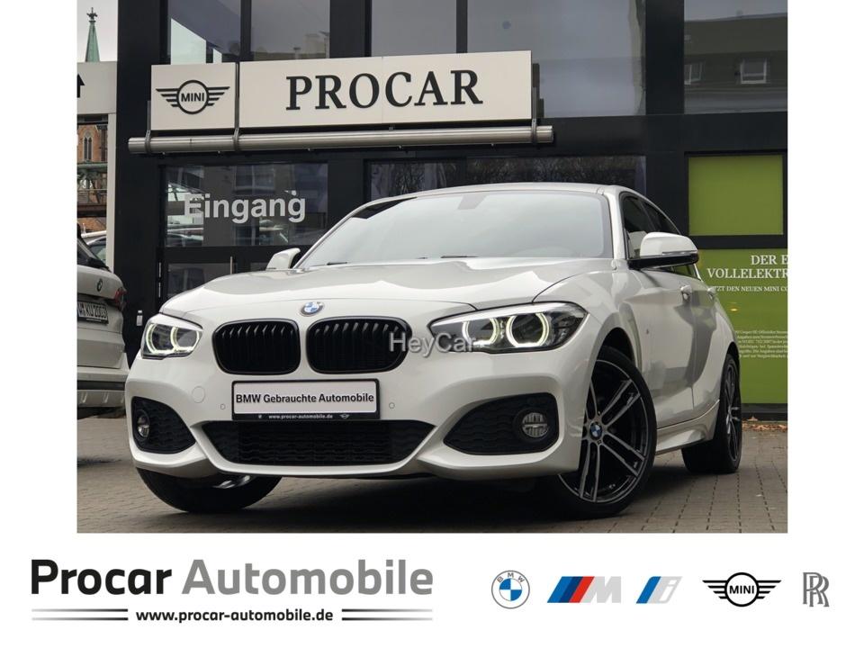 BMW 118i M Sport Navi LED HiFi PDC Shz Tempomat, Jahr 2017, Benzin