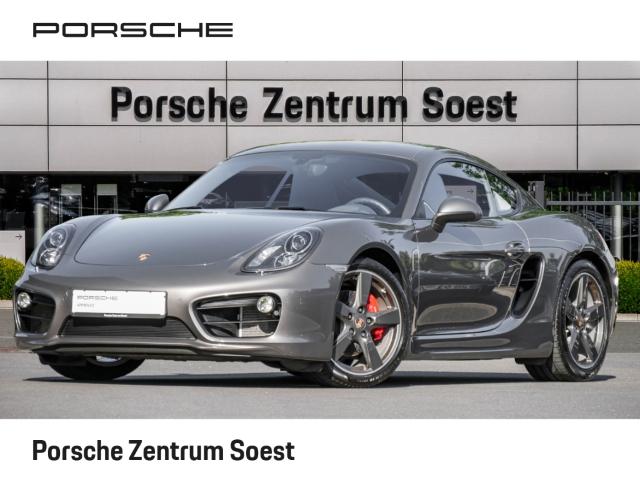 Porsche Cayman S 3.4/MANUELL/19''/BI-XENON/SPORTABGAS/SHZ, Jahr 2014, Benzin