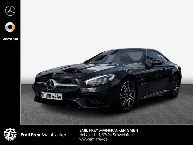 Mercedes-Benz SL 400 9G*AMG*Comand*Keyless-Go*Distronic*Pano*, Jahr 2019, Benzin