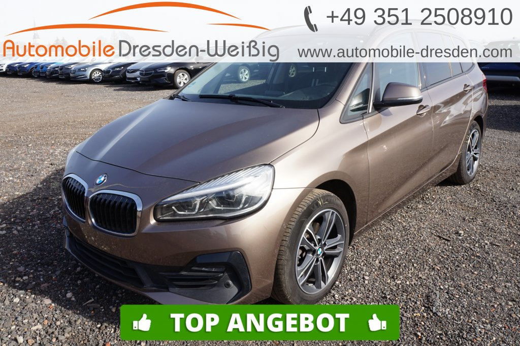 BMW 216 Gran Tourer i Sport Line*Navi*UPE 41.230€, Jahr 2019, Benzin