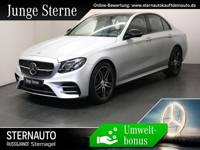 Mercedes-Benz E 53 AMG 4M Memory Sitzklima Multibeam HUD Distro, Jahr 2018, petrol