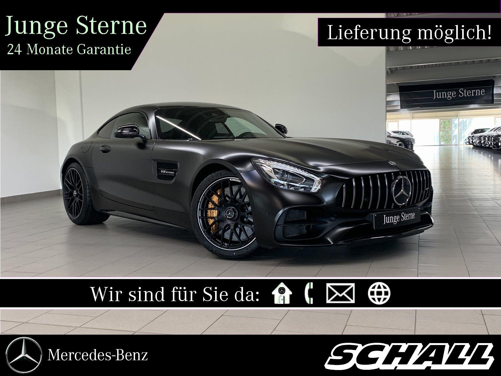 Mercedes-Benz AMG GT C KERAMIK+PERF.SITZE+PERF.ABGASANL+KAMERA, Jahr 2018, Benzin