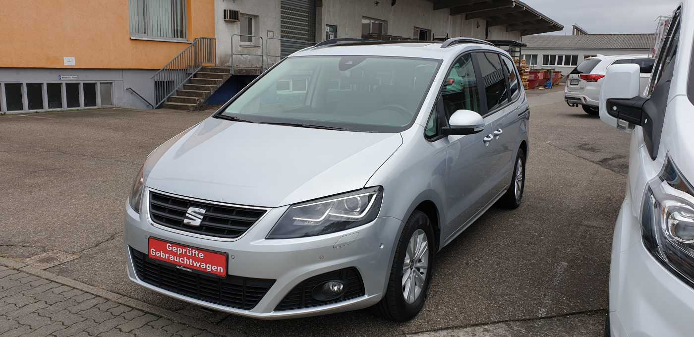 Seat Alhambra 2.0 TDI Eco Crono *NAV/AHK/Standhzg.*, Jahr 2015, Diesel