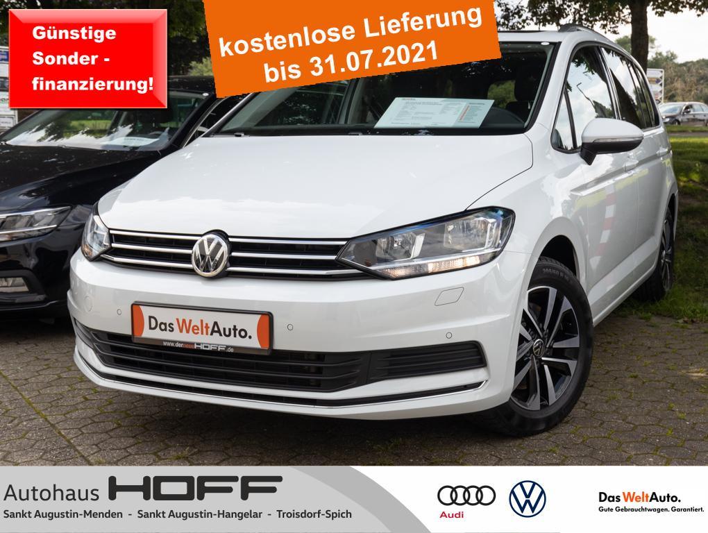 Volkswagen Touran 2.0 TDI United Navi Panorama AHK Anschlus, Jahr 2020, Diesel