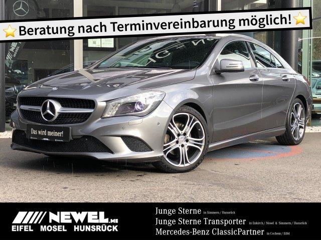 "Mercedes-Benz CLA 180 Coupé *URBAN*NAVI*BI-XENON*18""*PTS*DCT*, Jahr 2015, petrol"