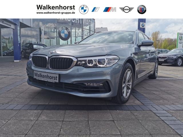 BMW 525 d Sport Line Touring Navi AHK Rückfahrkamera SHZ PGD, Jahr 2018, Diesel