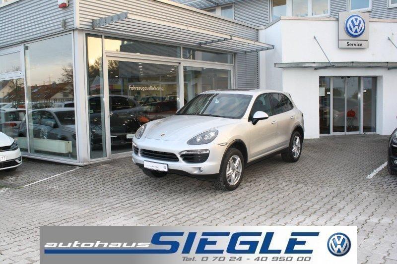 Porsche Cayenne S Navi*Xenon*Panorama-SD*21 Zoll*AHK, Jahr 2012, petrol