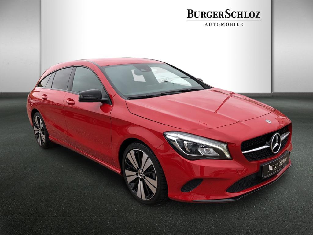 Mercedes-Benz CLA 180 Shooting Brake Urban/Night/LED/AHK/Navi, Jahr 2018, Benzin