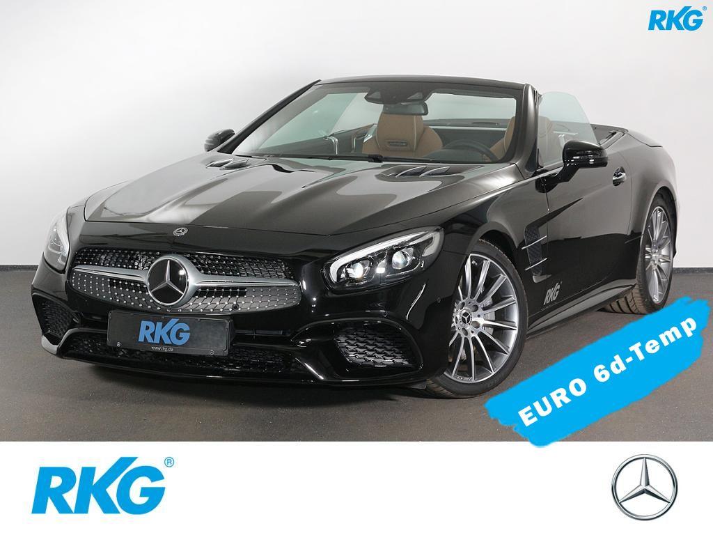 Mercedes-Benz SL 400 AMG*Harman*Comand*Distronic*LED*Kamera*, Jahr 2018, petrol