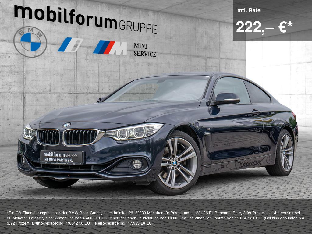 BMW 428i Coupé Sport Line, Jahr 2014, Benzin