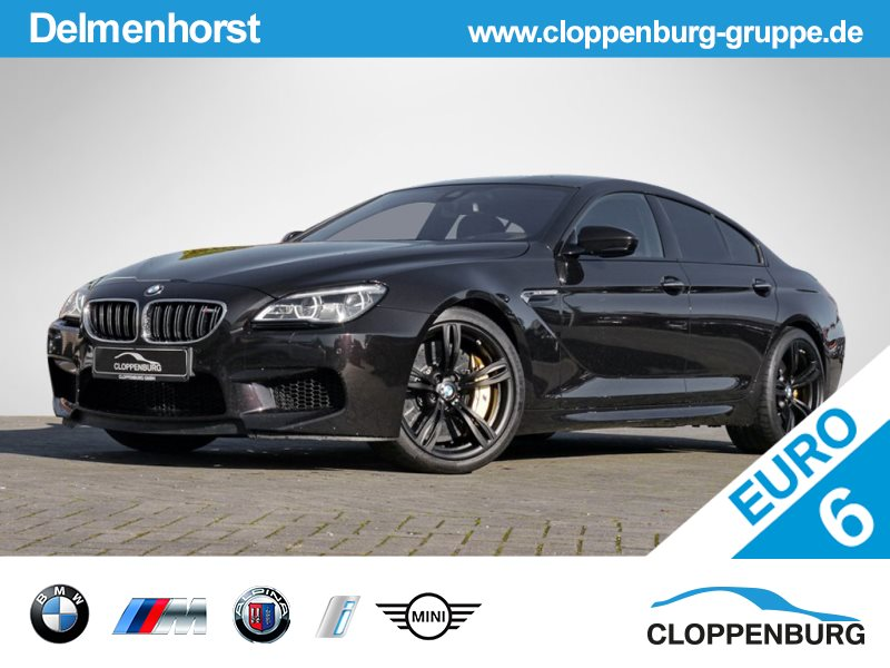 BMW M6 Gran Coupé Head-Up Navi Prof LED SoftClose B&O DAB, Jahr 2015, petrol