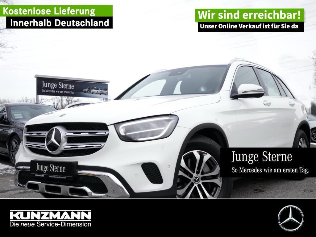 Mercedes-Benz GLC 200 4M MBUX Navi LED AHK Kamera EasyPack SHZ, Jahr 2019, Benzin