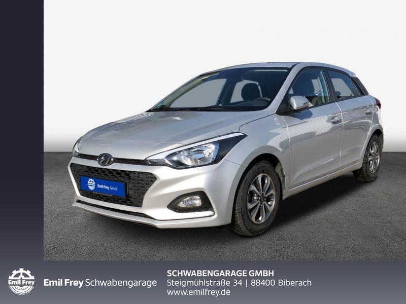 Hyundai i20 1.2 Select*Klima*ALU*Tempomat, Jahr 2018, Benzin