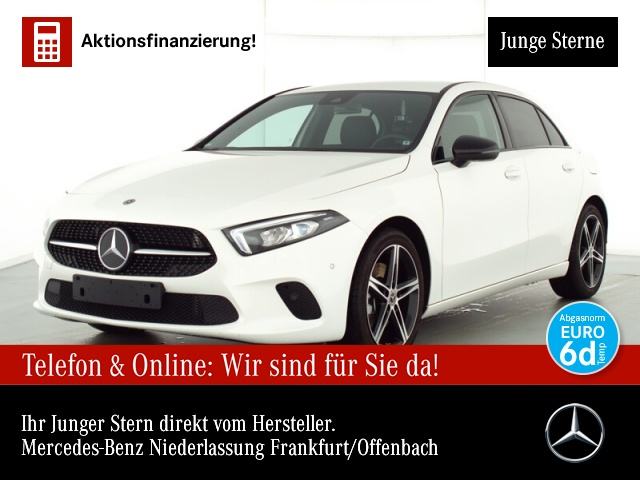 Mercedes-Benz A 220 Progressive Navi Premium LED AHK Night PTS, Jahr 2019, Benzin