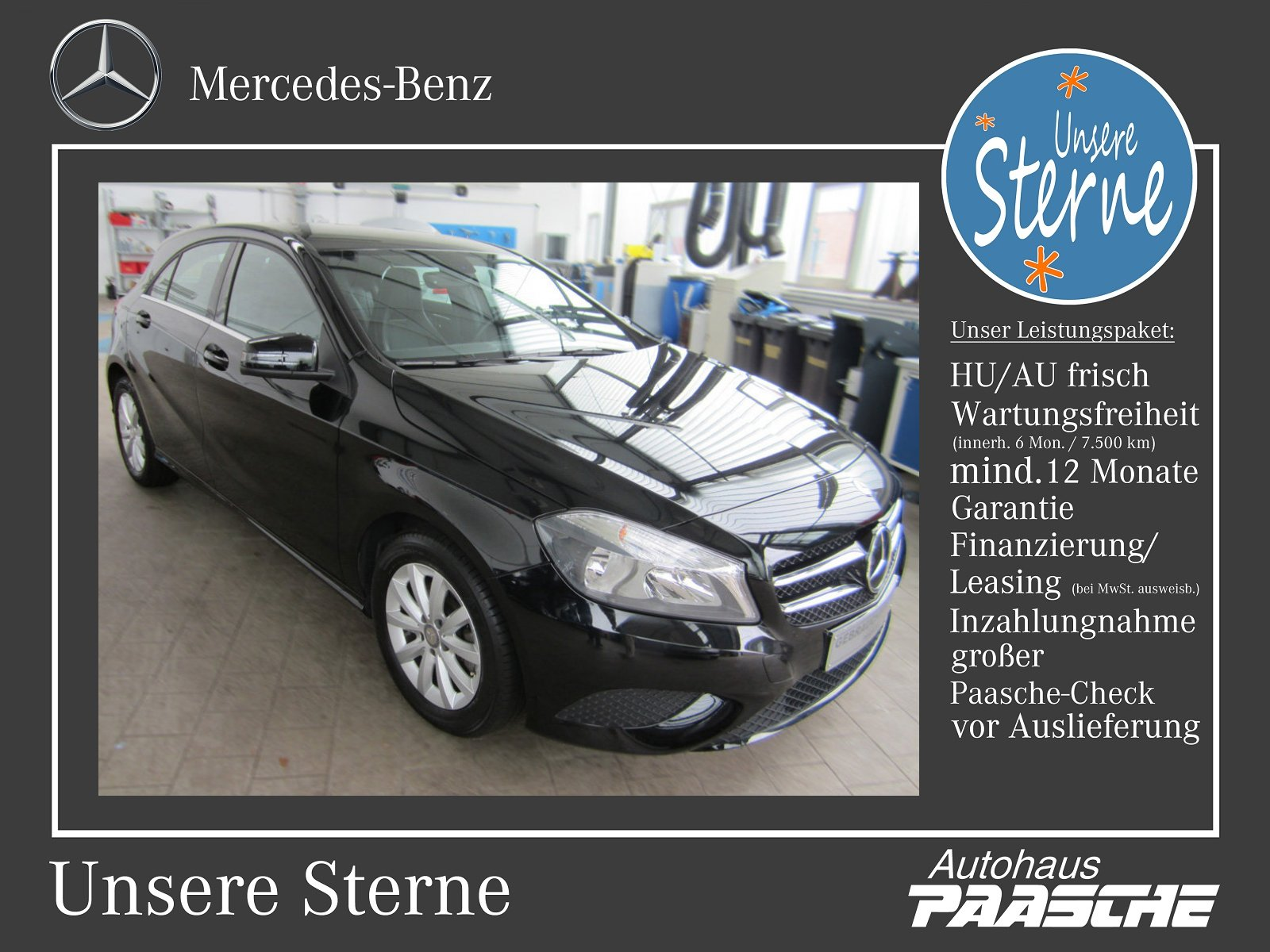 Mercedes-Benz A 200 CDI BlueEFFICIENCY Style/Autom./Klima, Jahr 2012, Diesel
