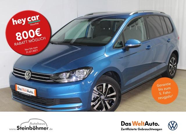 Volkswagen Touran United 2.0TDI 7-Sitze Navi AppCon Sitzhz., Jahr 2020, Diesel