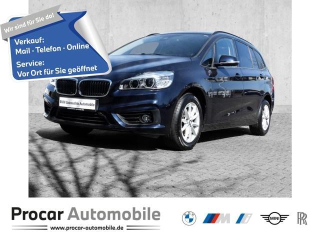 BMW 216 Gran Tourer Advantage Klimaaut. Sportsitze, Jahr 2017, Diesel