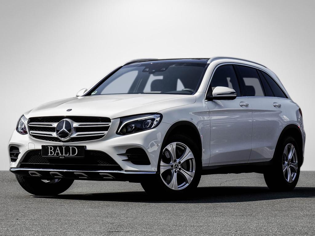 Mercedes-Benz GLC 300 4M AMG-Sport/Comand/ILS/Distr/20/Cam/SHZ, Jahr 2017, petrol
