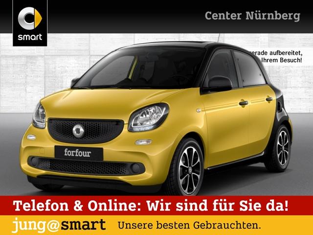 smart forfour 66kW passion cool&Audio SHZ Faltdach Klima, Jahr 2016, Benzin