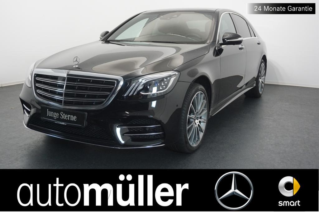 Mercedes-Benz S 400 d 4M l AMG+Comand+Pano.-Dach+360°+LED, Jahr 2017, Diesel