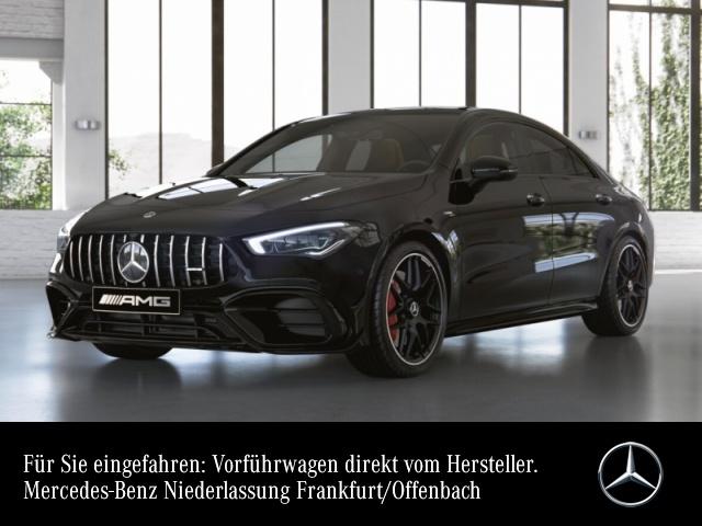 Mercedes-Benz CLA 45 S 4MATIC Coupé Sportpaket Head Up Display, Jahr 2021, Benzin